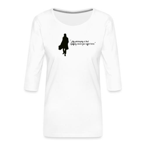 Newt - T-shirt Premium manches 3/4 Femme