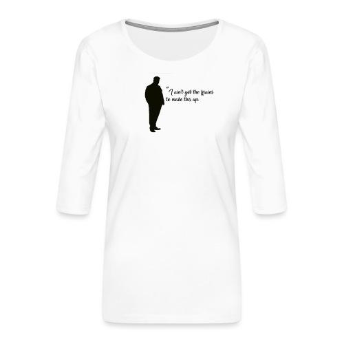 Jacob - T-shirt Premium manches 3/4 Femme