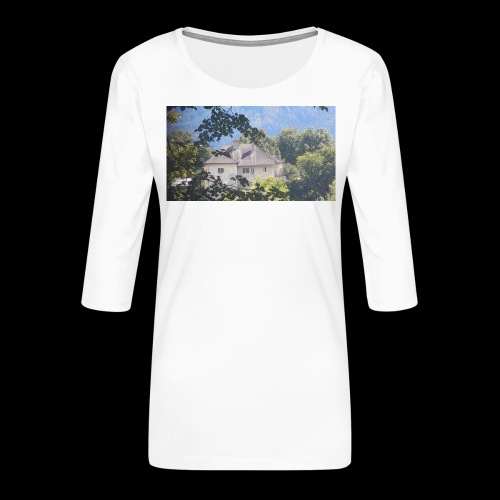 Altes Haus Vintage - Frauen Premium 3/4-Arm Shirt