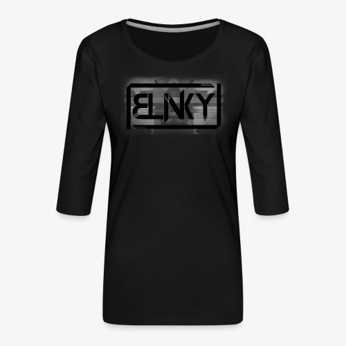Blinky Compact Logo - Women's Premium 3/4-Sleeve T-Shirt