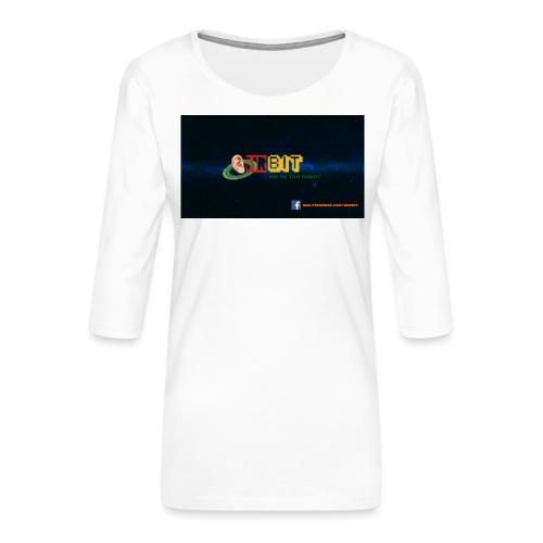OhrBit Logo - Frauen Premium 3/4-Arm Shirt
