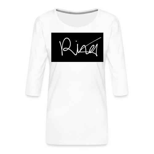 Autogramm - Frauen Premium 3/4-Arm Shirt