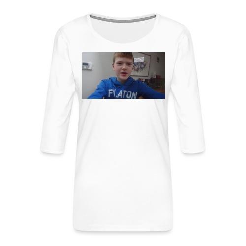 roel t-shirt - Vrouwen premium shirt 3/4-mouw