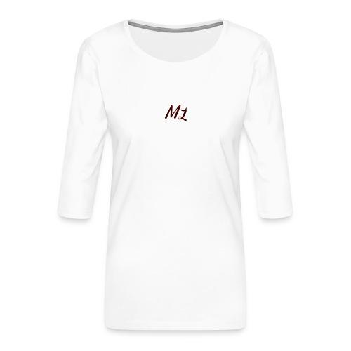ML merch - Women's Premium 3/4-Sleeve T-Shirt