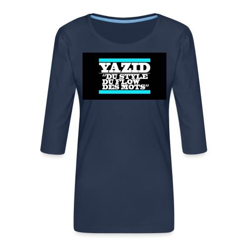 jdfcrea serie 1 - T-shirt Premium manches 3/4 Femme