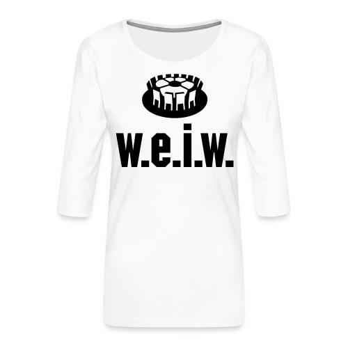 Titeltraum - Frauen Premium 3/4-Arm Shirt