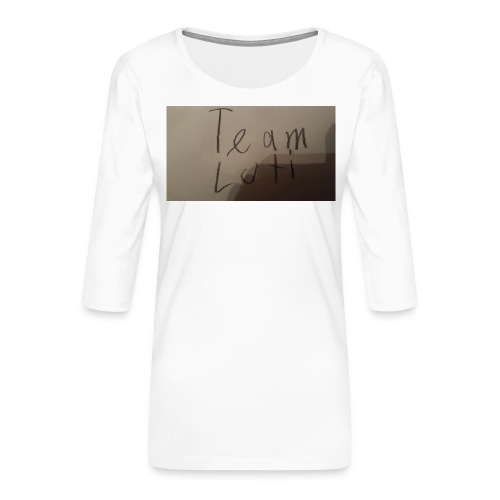 Team Luti - Frauen Premium 3/4-Arm Shirt