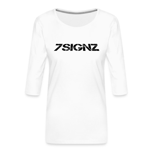 7SignZ Logo - Frauen Premium 3/4-Arm Shirt