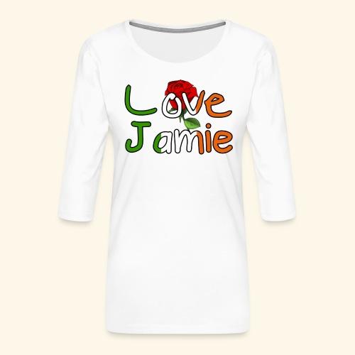 Jlove - Women's Premium 3/4-Sleeve T-Shirt