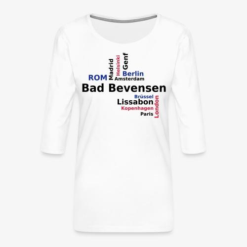 City_Europa_BadBevensen - Frauen Premium 3/4-Arm Shirt