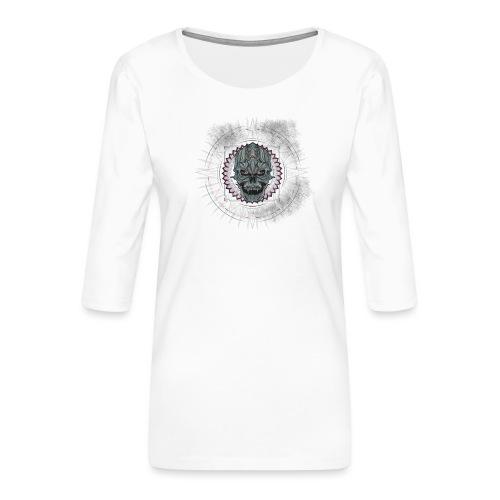 Premium - T-shirt Premium manches 3/4 Femme