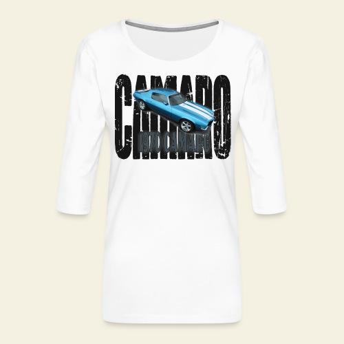 70 Camaro - Dame Premium shirt med 3/4-ærmer