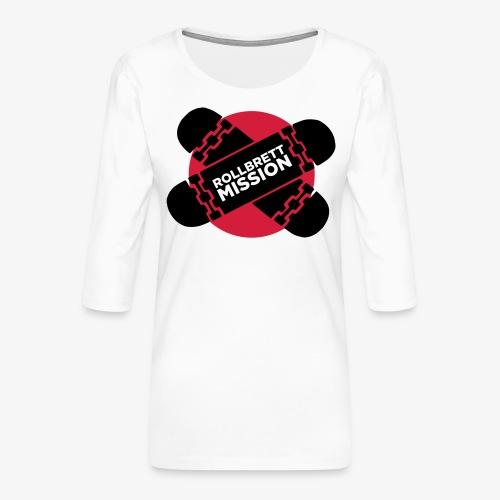 Mission Nippon - Frauen Premium 3/4-Arm Shirt