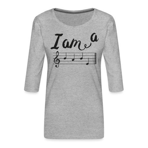 ImABabe - Vrouwen premium shirt 3/4-mouw