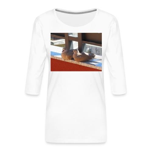 DSCN1222-JPG - Maglietta da donna premium con manica a 3/4