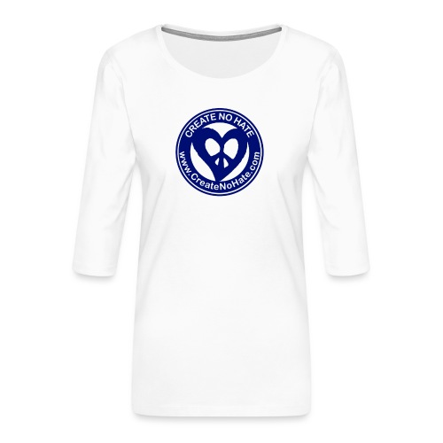 THIS IS THE BLUE CNH LOGO - Women's Premium 3/4-Sleeve T-Shirt