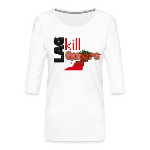 LAG Kills - Women's Premium 3/4-Sleeve T-Shirt
