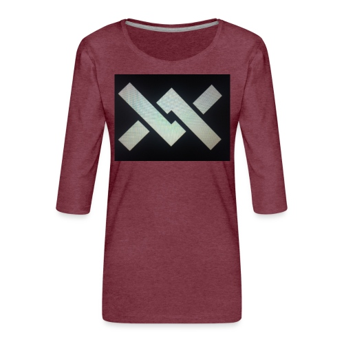 Original Movement Mens black t-shirt - Women's Premium 3/4-Sleeve T-Shirt