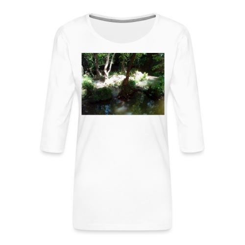 IMG 20180704 134239 - T-shirt Premium manches 3/4 Femme