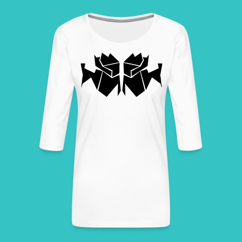 TrogArtZ Shirt - Frauen Premium 3/4-Arm Shirt