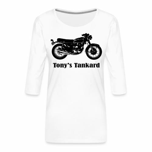 tonys tankard - Women's Premium 3/4-Sleeve T-Shirt