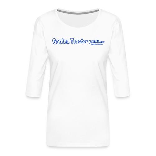 Børne Garden Tractor pulling - Dame Premium shirt med 3/4-ærmer