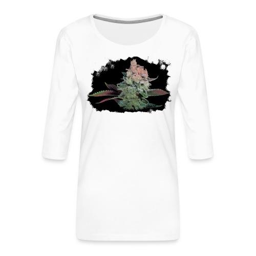 Pflänzchen png - Frauen Premium 3/4-Arm Shirt