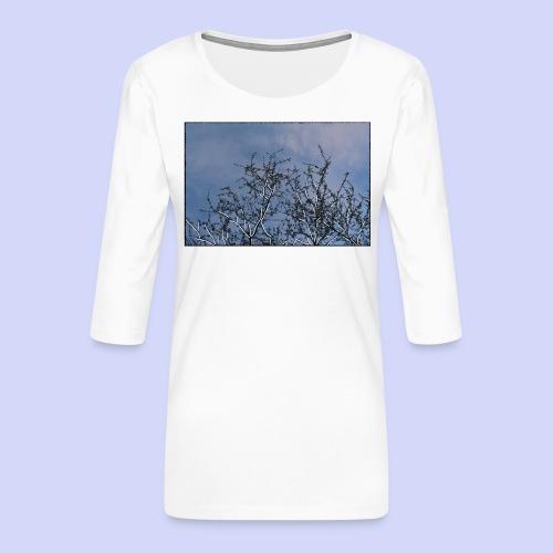 Summer times - Male shirt - Dame Premium shirt med 3/4-ærmer