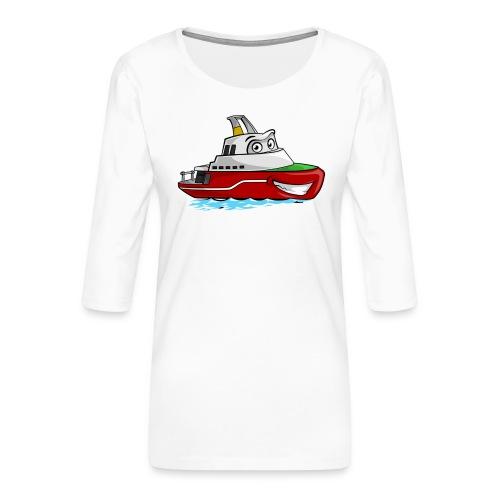 Boaty McBoatface - Women's Premium 3/4-Sleeve T-Shirt