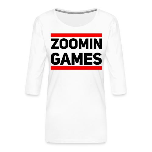 9815 2CRUN ZG - Women's Premium 3/4-Sleeve T-Shirt