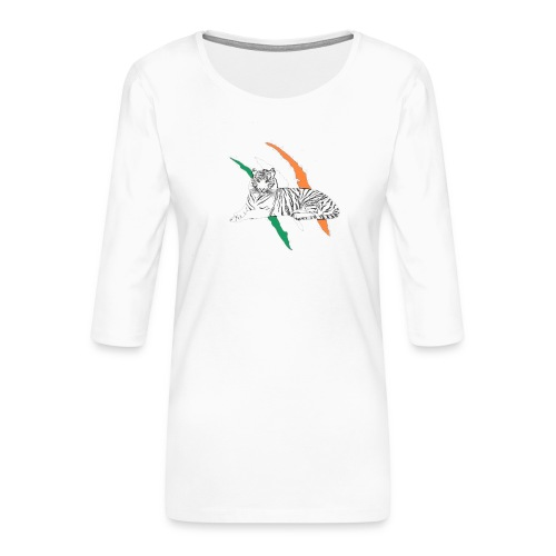 Celtictiger - Women's Premium 3/4-Sleeve T-Shirt