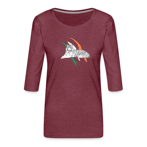 Celtictiger - Women's Premium 3/4-Sleeve T-Shirt