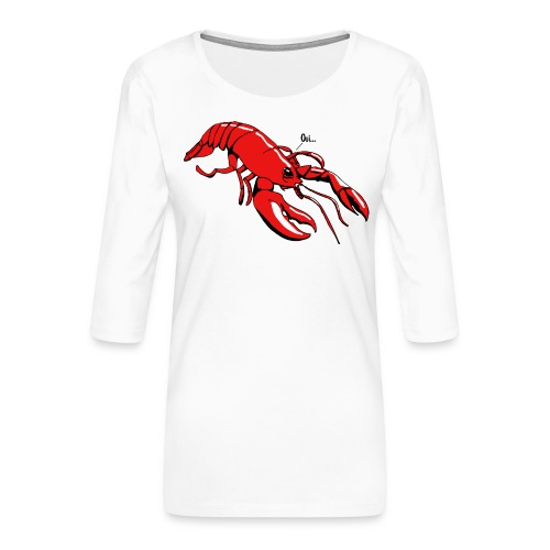 Lobster - Women's Premium 3/4-Sleeve T-Shirt