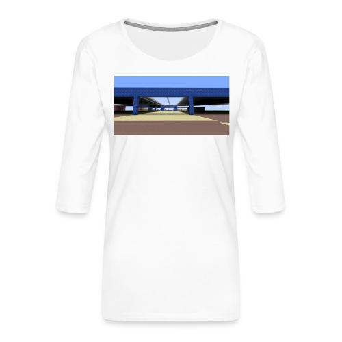 2017 04 05 19 06 09 - T-shirt Premium manches 3/4 Femme