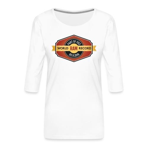 Nappo - Frauen Premium 3/4-Arm Shirt
