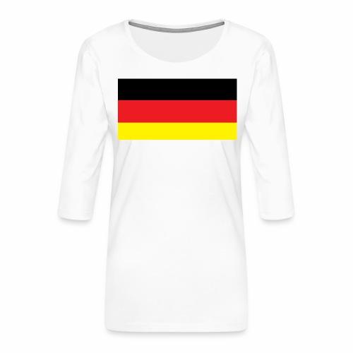 Deutschland Weltmeisterschaft Fußball - Frauen Premium 3/4-Arm Shirt