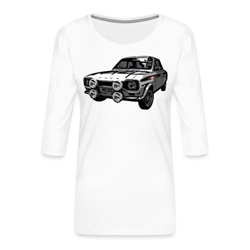 Mk1 Escort - Women's Premium 3/4-Sleeve T-Shirt