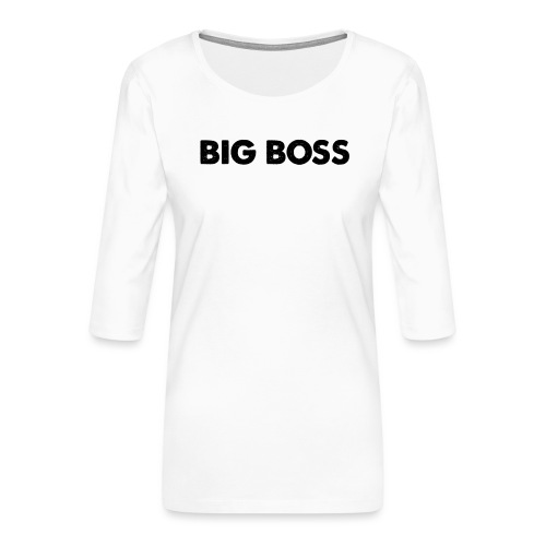 Big Boss - Frauen Premium 3/4-Arm Shirt