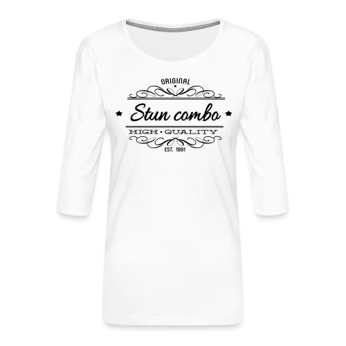 Stun Combo! - Women's Premium 3/4-Sleeve T-Shirt