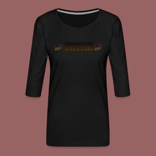 Suwoshi Streetwear - Vrouwen premium shirt 3/4-mouw