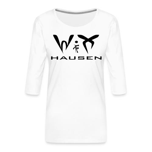 wixhausen - Frauen Premium 3/4-Arm Shirt