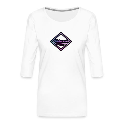 jordan sennior logo - Women's Premium 3/4-Sleeve T-Shirt