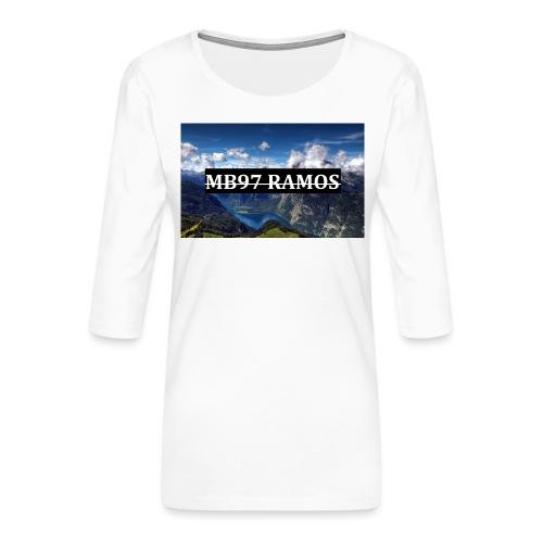 MB97RAMOS - Frauen Premium 3/4-Arm Shirt