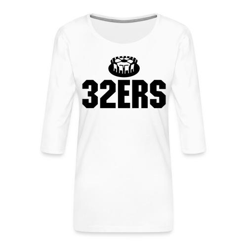 32ers - Frauen Premium 3/4-Arm Shirt