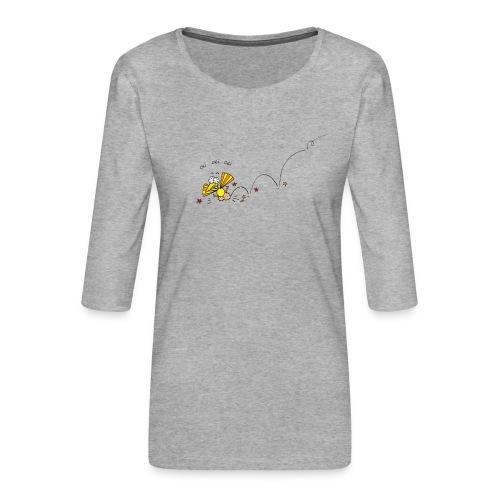 Oei Oei Vogeltje - Vrouwen premium shirt 3/4-mouw