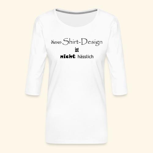 test_shop_design - Frauen Premium 3/4-Arm Shirt