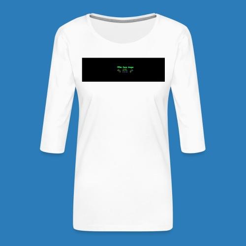 tetete-png - Dame Premium shirt med 3/4-ærmer