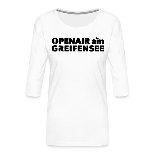 Openair am Greifensee 2018 - Frauen Premium 3/4-Arm Shirt