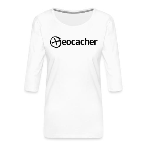 Geocacher - Naisten premium 3/4-hihainen paita