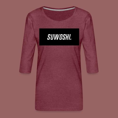Suwoshi Sport - Vrouwen premium shirt 3/4-mouw